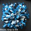 Snuffelmat hond kat blauw, grijs & wit