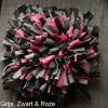 Snuffelmat hond kat grijs, zwart & roze