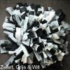 Snuffelmat hond kat zwart, grijs & wit