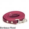 Biothane hondenlijn hondenriem - 3 meter 13mm 16mm - bordeaux rood - hond riem lijn wandelen