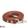 Biothane hondenlijn hondenriem - 3 meter 13mm 16mm - bruin - hond riem lijn wandelen