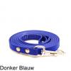 Biothane hondenlijn hondenriem - 3 meter 13mm 16mm - donker blauw - hond riem lijn wandelen