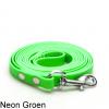 Biothane hondenlijn hondenriem - 3 meter 13mm 16mm - neon groen - hond riem lijn wandelen