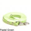 Biothane hondenlijn hondenriem - 3 meter 13mm 16mm - pastel groen - hond riem lijn wandelen