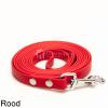 Biothane hondenlijn hondenriem - 3 meter 13mm 16mm - rood - hond riem lijn wandelen