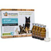 STOP! Animal bodyguard – Natuurlijke anti teken- en vlooiendruppels tekendruppels pipet pipetten homeopatisch alternatief honden katten
