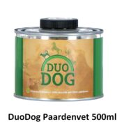 DuoDog Duo Dog paardenvet paardenvetolie 500ml pompje hond vetten oliën