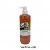 Gezonde sardine-olie vloeibaar voor de hond