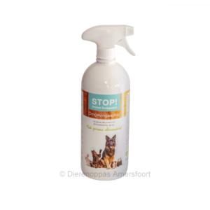 STOP! Omgevingsspray tegen vlooien kat hond natuurlijk alternatief voor gif