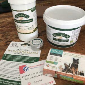 Producten supplement hond bio-ron bokashi veendrenkstof gevoelige darmen maag ontlasting diarree poep eten