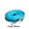 Lange hondenriem hondenlijn antislip rubber extra grip blauw