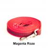 Lange hondenriem hondenlijn antislip rubber extra grip roze