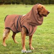 Badjas voor hond trimsalon herdershond golden retriever hondenbadjas bruin