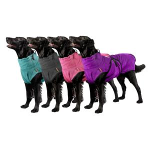 Beste hondenbadjas badjas voor honden hydrotherapie chillcoat superfurdogs van microvezel goedkoop aanbieding dierenwinkel