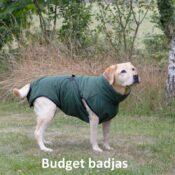 Groene budget chillcoat hondenbadjas honden badjas hond aanbieding2