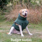 Superfurdogs chillcoat budget chillcoat hondenbadjas honden badjas hond aanbieding