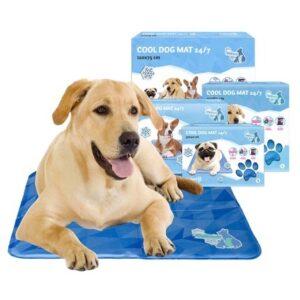 Beste goedkoopste koelmat hond coolmat voor honden aanbieding hittegolf oververhitting action lidl