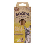 Soopa Sticks Banaan & Pindakaas honden dental sticks
