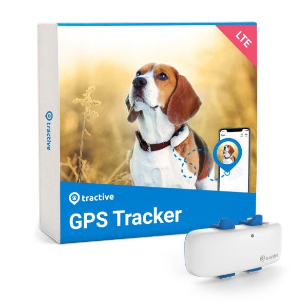 Tractive GPS tracker systeem voor honden halsband volgsysteem abonnement