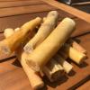 Natuurlijke harde kauwsnack - Bullestaart stukken hond hondensnack bot kluif