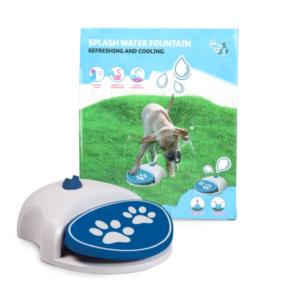 Waterfontein voor honden coolpets splash waterfountain water speelgoed hond verkoelend