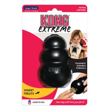 Kong speelgoed extreem zwart hond honden