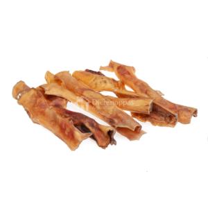 Runderkophuid natuurlijke harde kluif runder kophuid hond kauwsnacks kauw snack bot hond