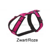 AnnyX Anny X tuig tuigje harnas hond puppy Anny-X fun kleur zwart roze