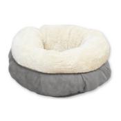 Donutmandje Donut mandje hond kat fleece mand kussen hondenmand hondenkussen