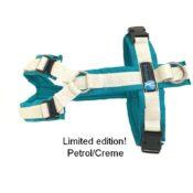 tuigje annyX anny-X gevoerd Y-tuig limited edition petrol creme