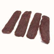 Filet strips reepjes hapjes stukjes Kip, Lam, Rund, Konijn en Eend