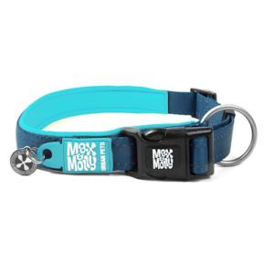 Luxe gevoerde neopreen halsband Blauw