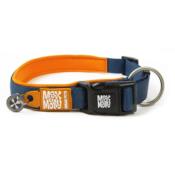 Luxe gevoerde neopreen halsband Oranje