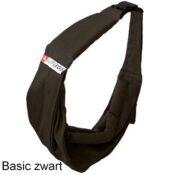 Ergonomische draagzak rugzak tas buidel hond puppy honden draagtas basic goedkoop zwart