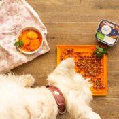 Lickimat likmat hond kat likimat hondenspeelgoed slowfeeder bestellen aanbieding goedkoop