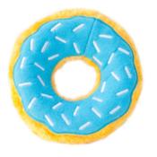 Donut blauw zippypaws zippy paws knuffel speelgoed hond donutz