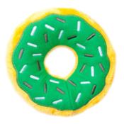 Donut groen zippypaws zippy paws knuffel speelgoed hond donutz