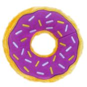 Donut paars zippypaws zippy paws knuffel speelgoed hond donutz