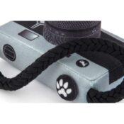 Play globetrotter speelgoed hond camera fototoestel honden knuffel