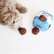 Zippypaws Zippy paws Milk Cookies knuffel hond honden