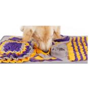 Snuffeldeken hond snuffelmat snuffel doek hersenwerk denkspel honden