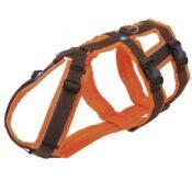 AnnyX Anny-X Safety Harnass Harness tuigje anti-ontsnappingstuig hond veiligheidstuig buitenlandse honden bruin oranje