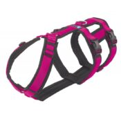 AnnyX Anny-X Safety Harnass Harness tuigje anti-ontsnappingstuig hond veiligheidstuig buitenlandse honden roze