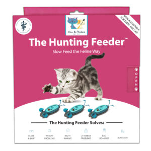 Doc & Phoebe's Indoor Hunting Cat Feeder Voermuisjes voor katten kittens kat