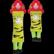 Hozies geel hondenspeelgoed brandweerslang brandweer slang sterk stevig speelgoed