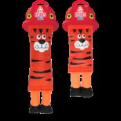 Hozies oranje hondenspeelgoed brandweerslang brandweer slang sterk stevig speelgoed
