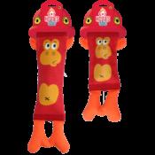 Hozies rood hondenspeelgoed brandweerslang brandweer slang sterk stevig speelgoed