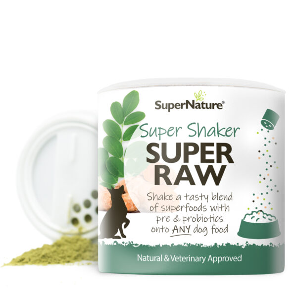 SuperNature Super Raw Super Shaker voedingssupplement voeding supplement hond