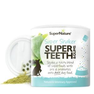 SuperNature Super Teeth Super Shaker voedingssupplement voeding supplement hond