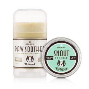Natural dog company balsems natuurlijk biologisch voor de hond neus poot huid allergie rimpels huidplooien ontsteking